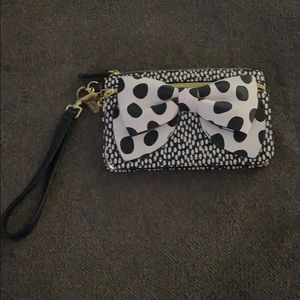 NWOT Betsey Johnson Dot Wristlet